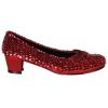 Shoe Sequin Red Child Medium